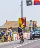 Il ciclista Jose Joaquin Rojas Gil Fotografia Stock