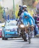 Il ciclista Lars Boom - 2016 Parigi-piacevole Immagini Stock