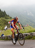 Il ciclista Maarten Tjallingii Fotografia Stock Libera da Diritti