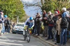 Il ciclista Michael Matthews - 2016 Parigi-piacevole Immagine Stock