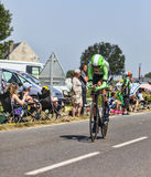 Il ciclista Robert Gesink Immagine Stock