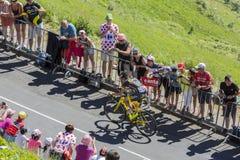 Il ciclista Romain Sicard - Tour de France 2016 Fotografia Stock Libera da Diritti