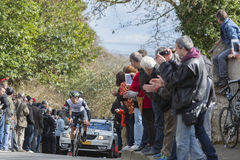 Il ciclista Youcef Reguigui - 2016 Parigi-piacevole Immagine Stock Libera da Diritti