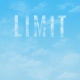 Il cielo è il limite Immagine Stock