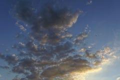 Il cielo al tramonto Immagine Stock Libera da Diritti