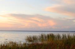 Il cielo al tramonto Fotografia Stock Libera da Diritti