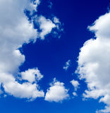 Il cielo blu Fotografia Stock Libera da Diritti