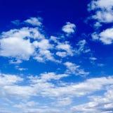 Il cielo blu Fotografie Stock Libere da Diritti