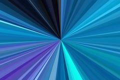 Il cielo blu, acquamarina, blu-verde, verde mare, raggi di colore del turchese di luce sottrae il fondo Modello del fascio delle  illustrazione di stock