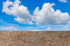 Il cielo con le nubi Fotografia Stock