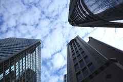 Il cielo della città Immagini Stock Libere da Diritti