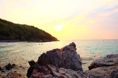 Il cielo della spiaggia di tum-Yaii Immagini Stock Libere da Diritti