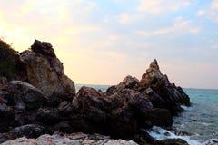 Il cielo della spiaggia di tum-Yaii Fotografie Stock