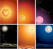 Il cielo della stella Fotografie Stock