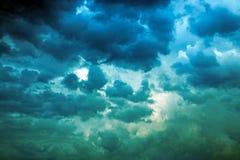 Il cielo della tempesta Fotografie Stock Libere da Diritti