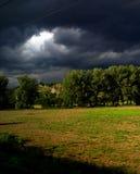 Il cielo della tempesta Immagine Stock