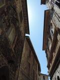 Il cielo di Assisi Immagini Stock