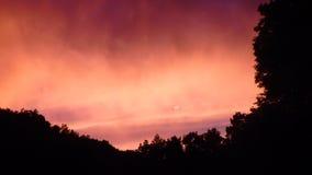 Il cielo di estate fotografie stock libere da diritti
