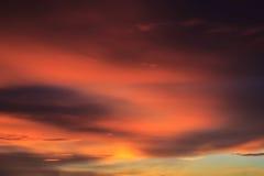 Il cielo di sera. Immagini Stock Libere da Diritti