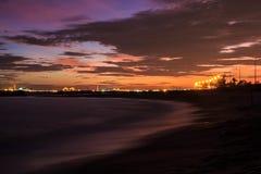 Il cielo di sera. Fotografia Stock Libera da Diritti