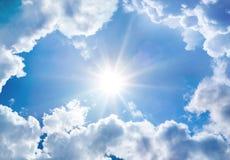 Il cielo divino Immagine Stock