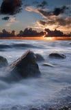 Il cielo e vede Fotografie Stock Libere da Diritti