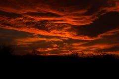Il cielo marziano Fotografia Stock Libera da Diritti