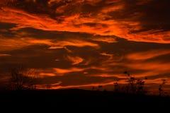 Il cielo marziano Fotografia Stock