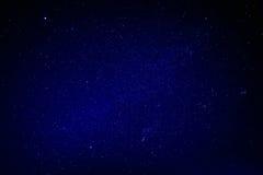 Il cielo notturno naturale Stars la struttura del fondo Fotografie Stock Libere da Diritti