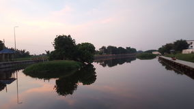 Il cielo prima del tramonto Fotografia Stock Libera da Diritti
