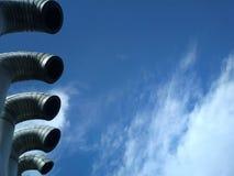Il cielo pulito blu è più importante, prego! Fotografie Stock Libere da Diritti