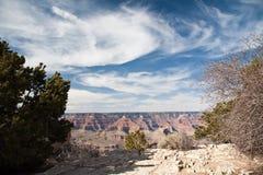 Il cielo sopra i grandi canyon Immagini Stock Libere da Diritti