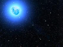 Il cielo stars i pianeti Fotografie Stock Libere da Diritti