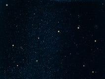 Il cielo stars la costellazione Immagini Stock Libere da Diritti