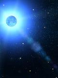 Il cielo stars la costellazione immagini stock
