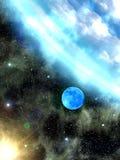 Il cielo stars la terra illustrazione vettoriale