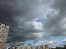Il cielo in un temporale Fotografie Stock Libere da Diritti