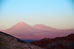 Il Cile fotografia stock