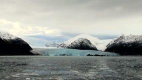 Il Cile - Amalia Glacier Landscape video d archivio