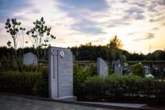 Il cimitero fotografia stock libera da diritti