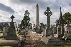Il cimitero di Glasnevin fotografie stock libere da diritti