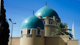 Il cimitero ed il mausoleo reali in Adamiyah, Bagdad, Irak Immagini Stock Libere da Diritti