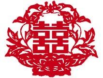 Il cinese documento-ha tagliato Fotografia Stock