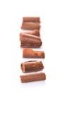 Il cioccolato arriccia VI Immagini Stock