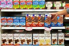 Il cioccolato spruzza Fotografia Stock Libera da Diritti