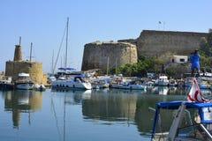 Il Cipro, Kyrenia Fotografie Stock Libere da Diritti