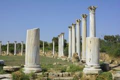 Il Cipro, salami antichi Fotografia Stock