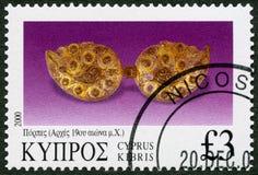 Il CIPRO - 2000: vari pezzi di gioielli, serie di manifestazioni dei gioielli Fotografia Stock Libera da Diritti