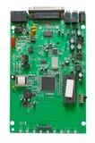 Il circuito di un modem di accesso telefonico esterno fotografie stock libere da diritti