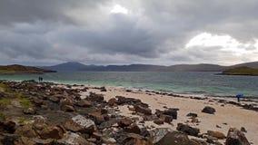 Il Clagain Coral Beach sull'isola di Skye - la Scozia archivi video